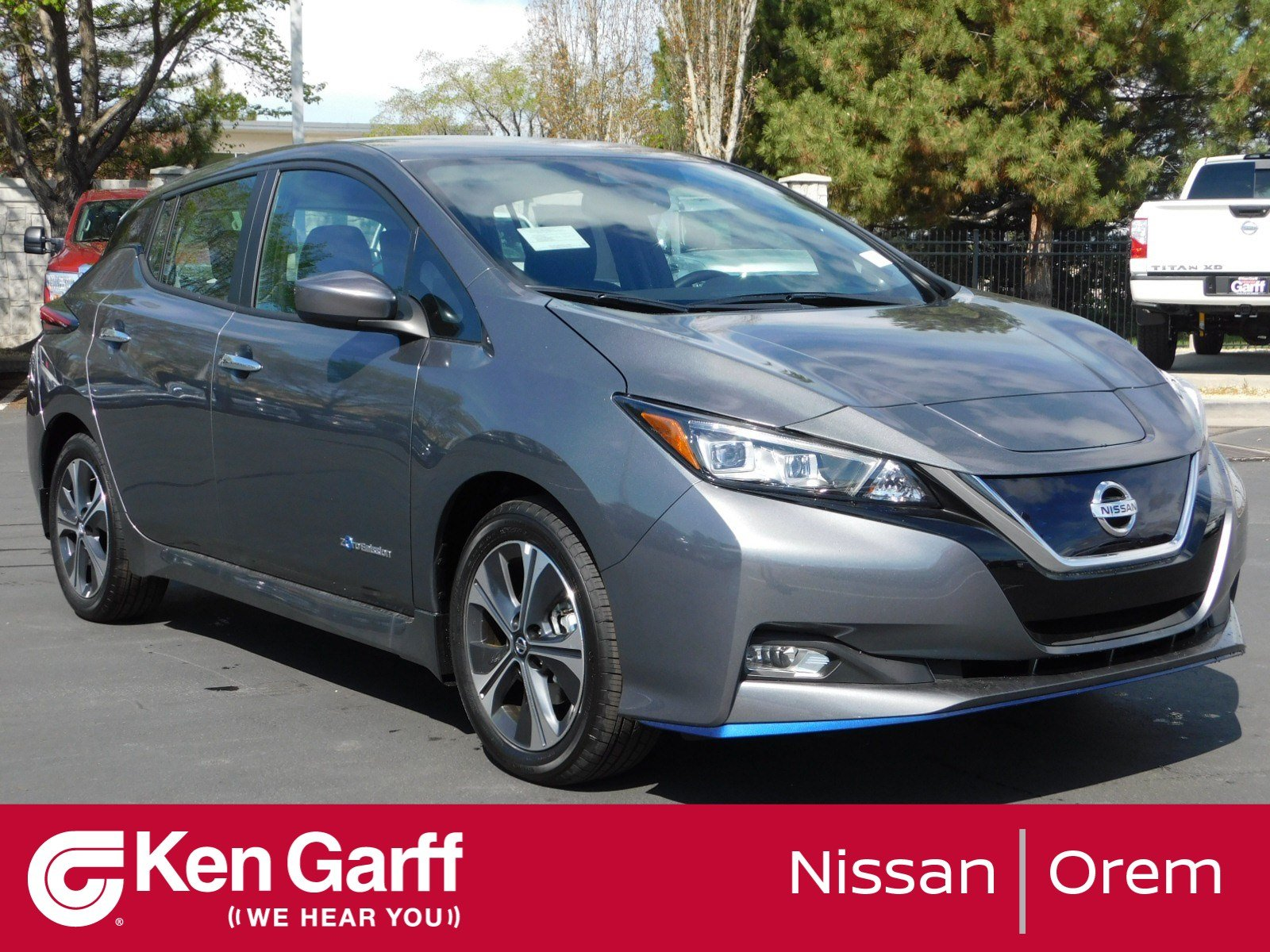 New 2019 Nissan Leaf Sv Plus Hatchback In Orem 2n90228 Ken Garff