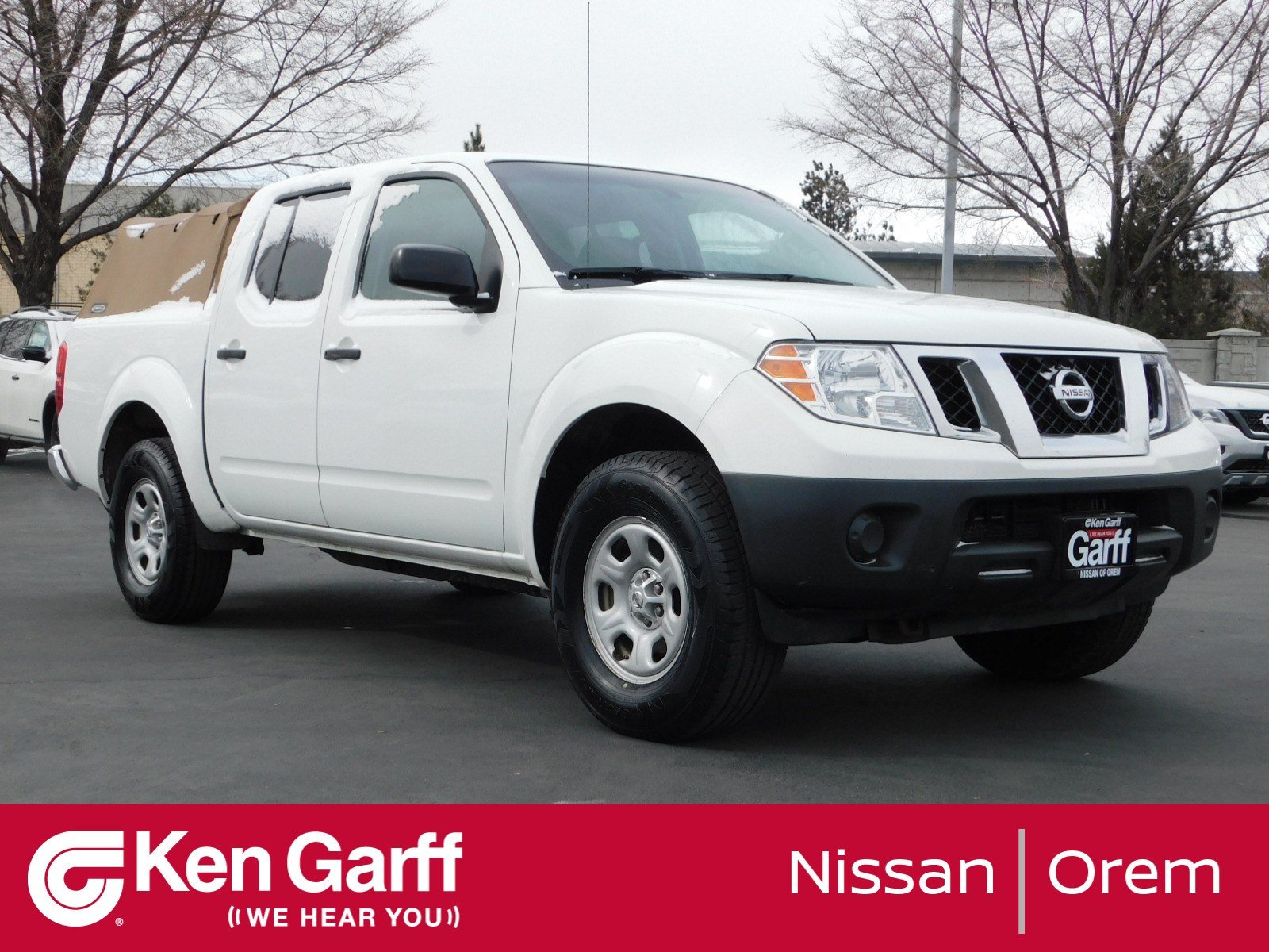 Pre-Owned 2014 Nissan Frontier S
