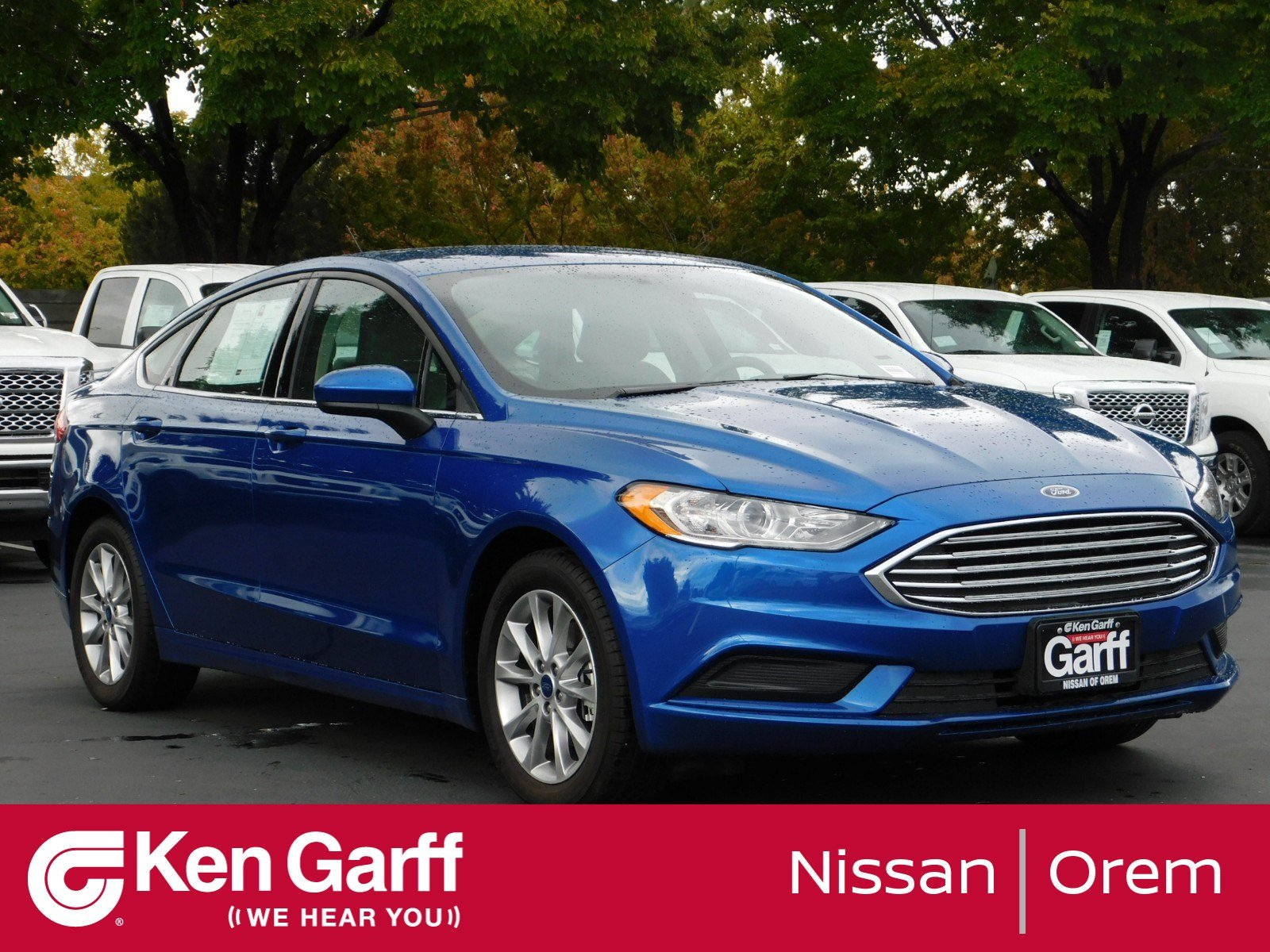 Pre Owned 2017 Ford Fusion SE 4dr Car in Orem 2NU5258