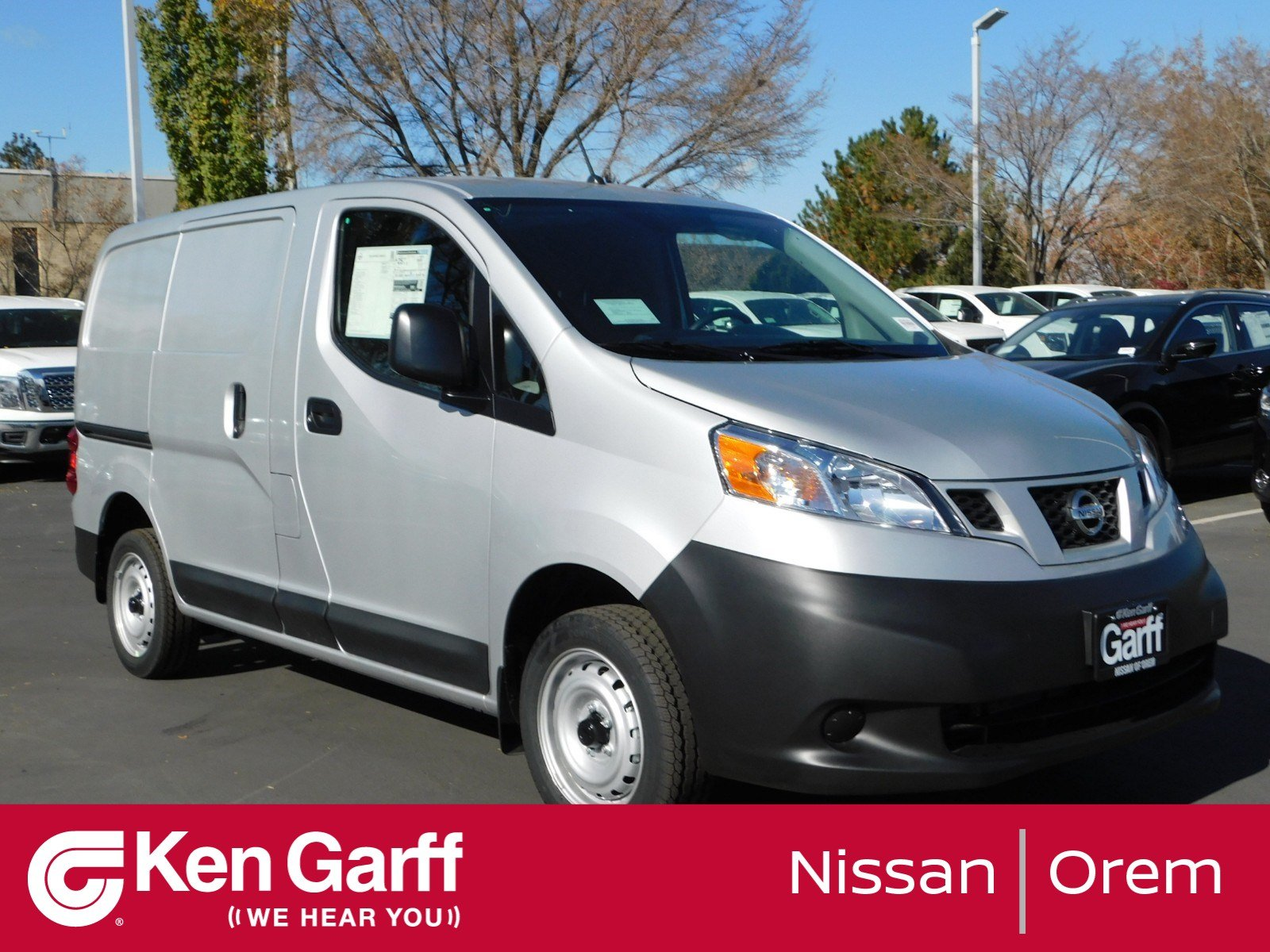 New 2019 Nissan Nv200 Compact Cargo S Mini Van Cargo In Orem