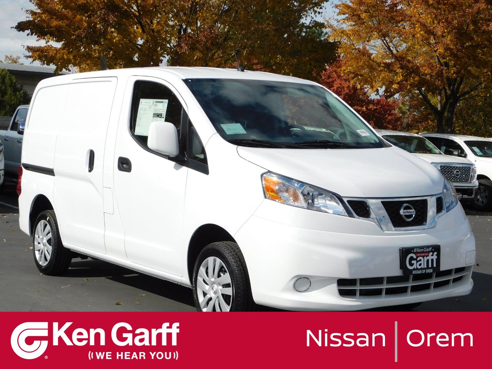 New 2019 Nissan Nv200 Compact Cargo Sv Mini Van Cargo In Orem