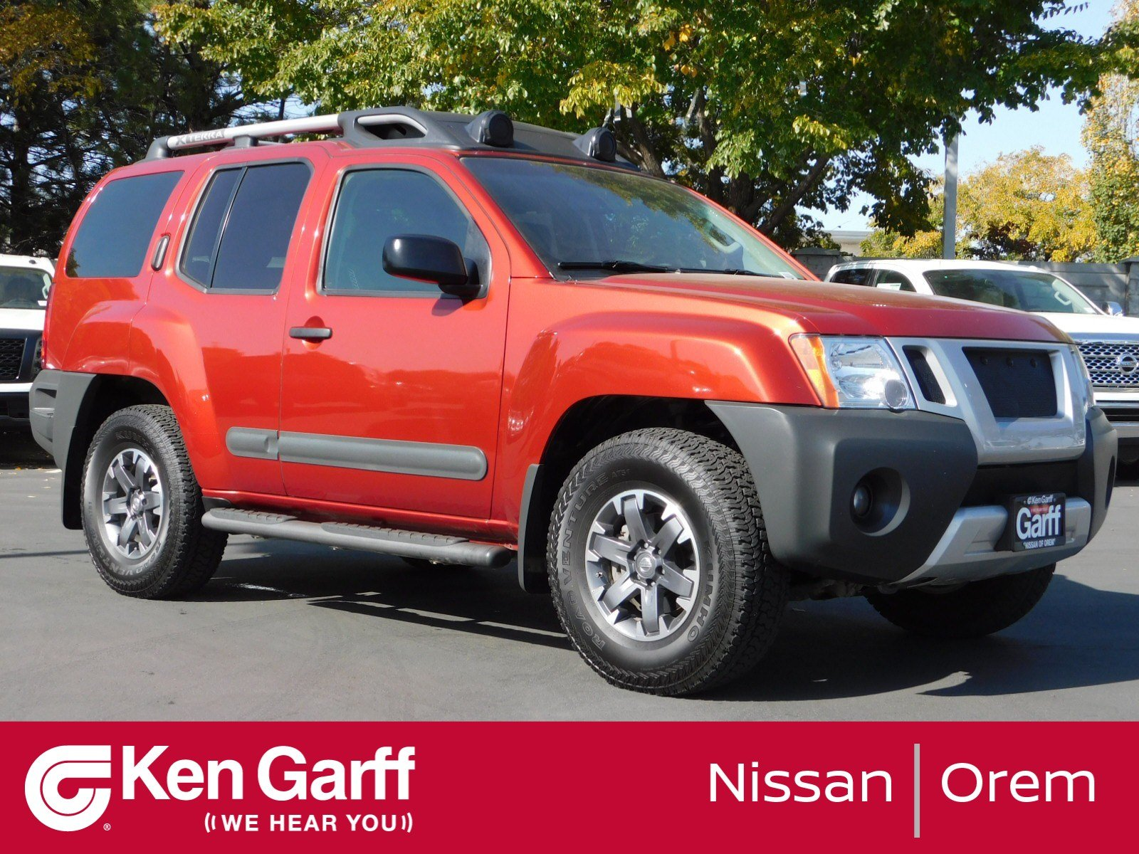 Pre-Owned 2014 Nissan Xterra Pro-4X