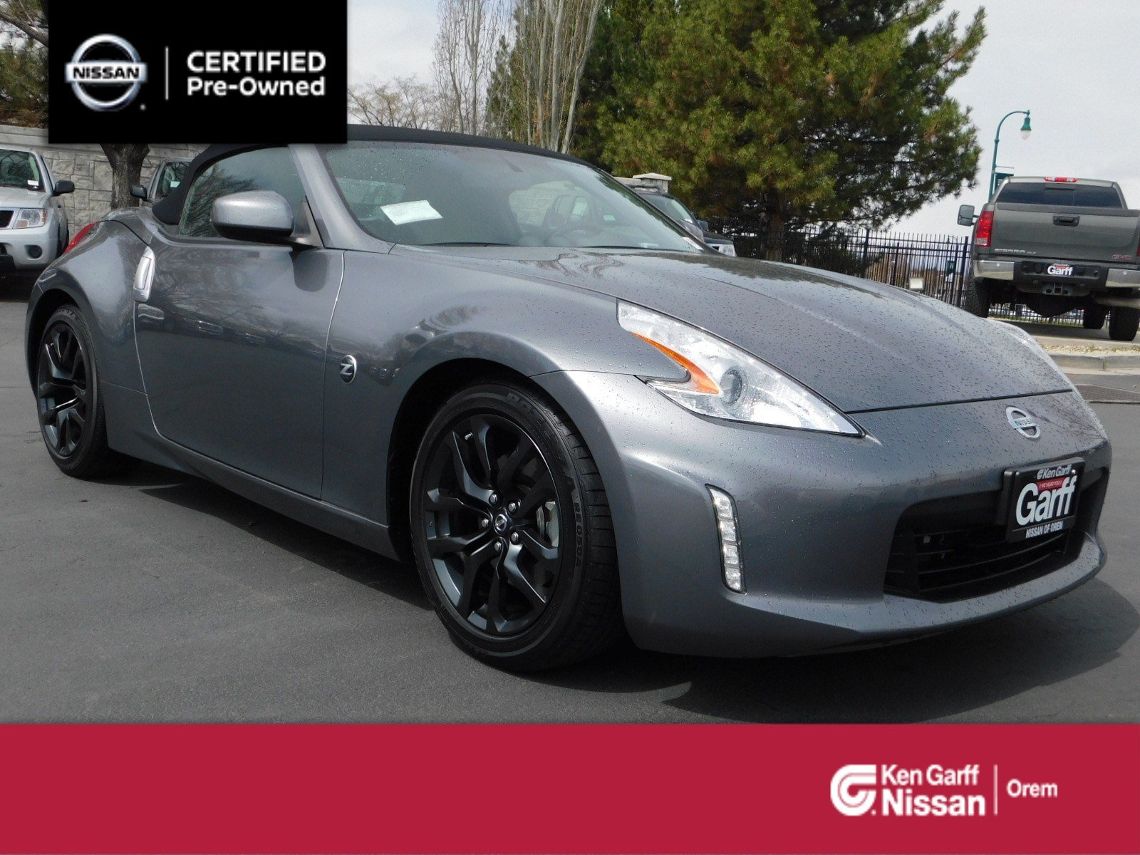 Certified Pre-Owned 2017 Nissan 370Z ROADSTER AUTO