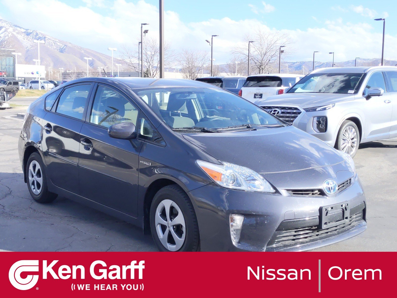 Pre-Owned 2012 Toyota Prius 5DR HB THREE